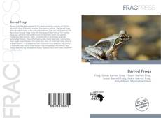 Couverture de Barred Frogs