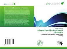 Copertina di International Federation of Robotics