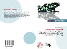 Bookcover of Littlejohn's Toadlet