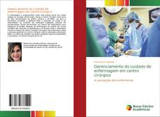 Gerenciamento do cuidado de enfermagem em centro cirúrgico kitap kapağı