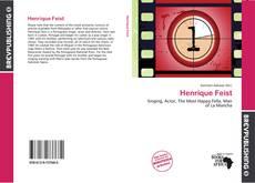Henrique Feist kitap kapağı