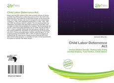 Child Labor Deterrence Act的封面