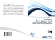 Bookcover of María Eugenia Vidal
