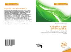 Children Care International kitap kapağı