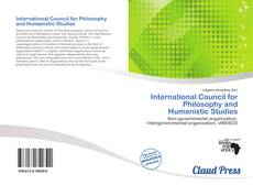 Bookcover of International Council for Philosophy and Humanistic Studies