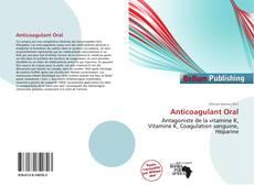 Bookcover of Anticoagulant Oral