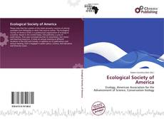 Bookcover of Ecological Society of America