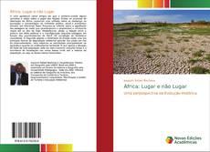 Обложка África: Lugar e não Lugar