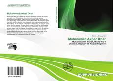 Bookcover of Muhammed Akbar Khan