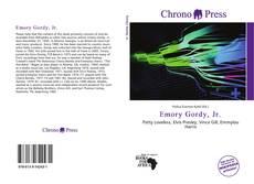 Couverture de Emory Gordy, Jr.