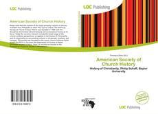 Capa do livro de American Society of Church History