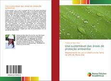 Capa do livro de Uso sustentável das áreas de proteção ambiental