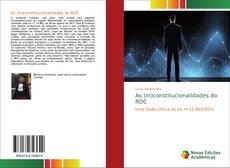 Couverture de As (In)constitucionalidades do RDC