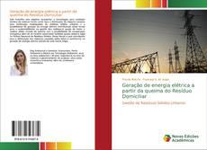 Capa do livro de Geração de energia elétrica a partir da queima do Resíduo Domiciliar