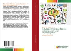 Обложка Estudos em Ciências Sociais Aplicadas: um olhar multidisciplinar II