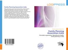Bookcover of Family Planning Association India