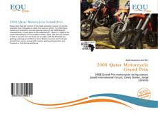 Bookcover of 2008 Qatar Motorcycle Grand Prix