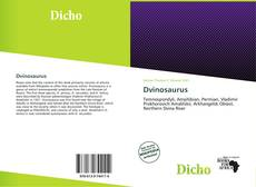 Bookcover of Dvinosaurus
