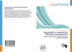 Portada del libro de Ayyavazhi in reports by Christian missionaries