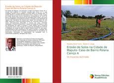 Portada del libro de Erosão de Solos na Cidade de Maputo- Caso de Bairro Polana Caniço A