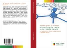 Capa do livro de As relações entre capital social e capital humano