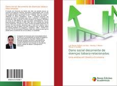Обложка Dano social decorrente de doenças tabaco-relacionadas