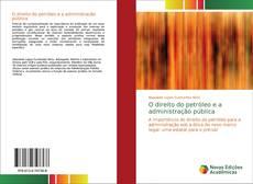Capa do livro de O direito do petróleo e a administração pública