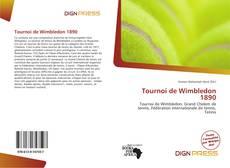 Обложка Tournoi de Wimbledon 1890