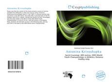 Bookcover of Antonina Krivoshapka