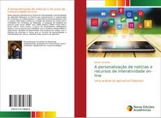 A personalização de notícias e recursos de interatividade on-line kitap kapağı