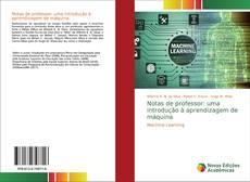Обложка Notas de professor: uma introdução à aprendizagem de máquina
