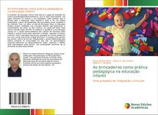 Capa do livro de As brincadeiras como prática pedagógica na educação infantil