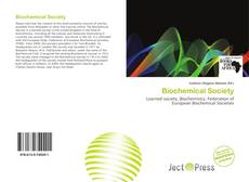 Capa do livro de Biochemical Society