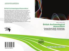 Borítókép a  British Archaeological Association - hoz