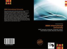 AMA International University kitap kapağı