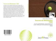 Обложка Tournoi de Wimbledon 1920