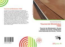 Обложка Tournoi de Wimbledon 1926