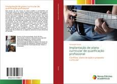 Capa do livro de Implantação de plano curricular de qualificação profissional