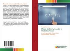 Capa do livro de Meios de Comunicação e Diabetes Tipo 1