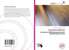 Capa do livro de Avicenna School