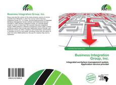 Business Integration Group, Inc.的封面