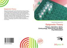Bookcover of Epigenetic Theory