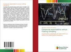 Borítókép a  Comercial exportadora versus trading company - hoz