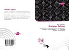 Обложка Adebayo Adigun