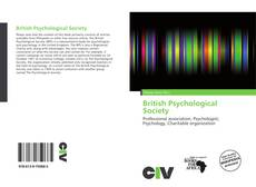Bookcover of British Psychological Society