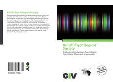 Capa do livro de British Psychological Society