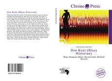 Couverture de Don Kent (Blues Historian)
