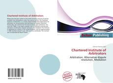 Chartered Institute of Arbitrators的封面