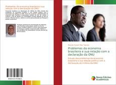 Problemas da economia brasileira e sua relação com a declaração da ONU kitap kapağı