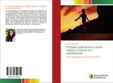 Capa do livro de O Poder Judiciário e o olhar sobre a criança e o adolescente